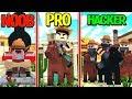 Minecraft - WILD WEST COWBOYS! (NOOB vs PRO vs HACKER)