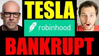 Scott Galloway Says Robinhood App & Tesla Going Bankrupt!