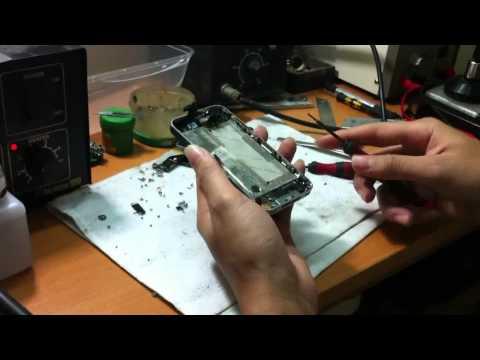 Video tháo Iphone4 - các bệnh thường gặp trên các linh kiện part 1