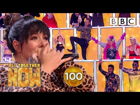 SHE GOT 100! Shellyann Smashes Sia's I'm Alive 🤯 - BBC All Together Now 🎤