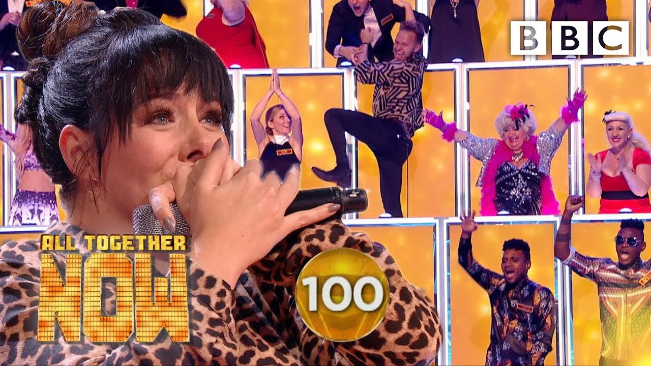 Download SHE GOT 100! Shellyann smashes Sia's I'm Alive 🤯 - BBC All Together Now 🎤