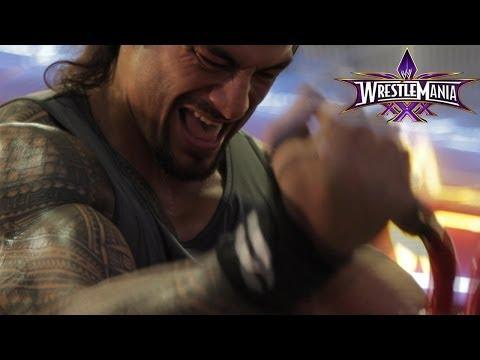 Roman Reigns WrestleMania Workout