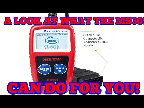 AUTEL MAXISCAN MS309 CAR OBD 2 DIGNOSTICS SCANNER