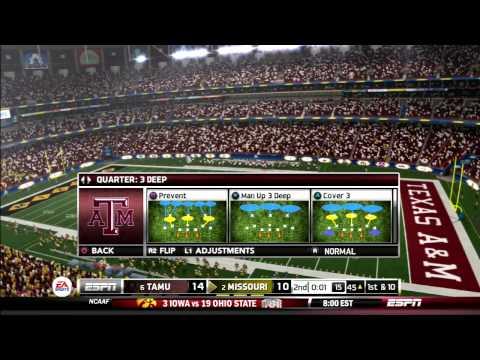 2015 SEC Championship Game #6 Texas A&M vs #2 Missouri
