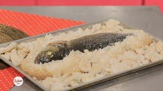 سمك مخبوز في الملح | غادة التلي