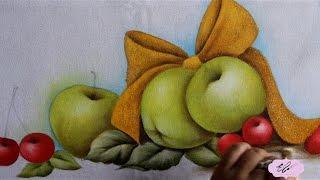 Pintura em tecido – Eliane Nascimento: Pintura natalina