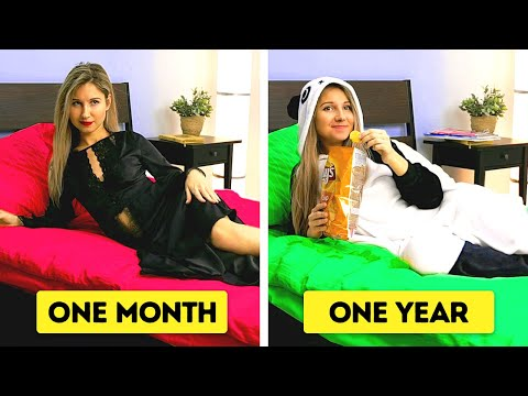 FROM HAVING A CRUSH TO 40 YEARS TOGETHER || All About Relationship by 5-Minute FUN