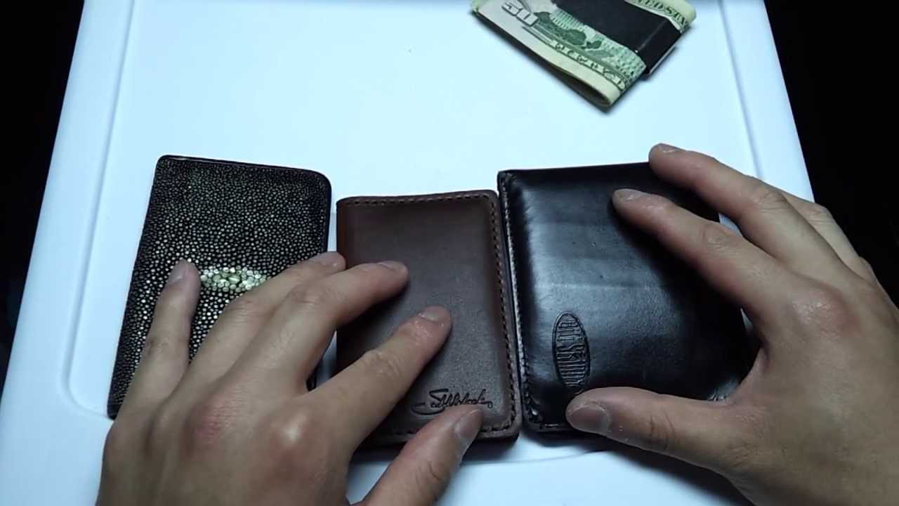 Saddleback Leather Card Holder - YouTube