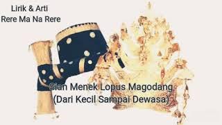 Download Mp3 Rere Ma Na Rere Lirik & Artinya