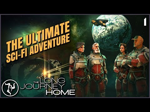 Epic Sci-fi TV Show, The Game | The Long Journey Home - Let's Play Episode 1
