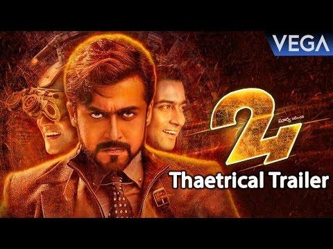 Suriya's 24 Theatrical Trailer || Suriya,...
