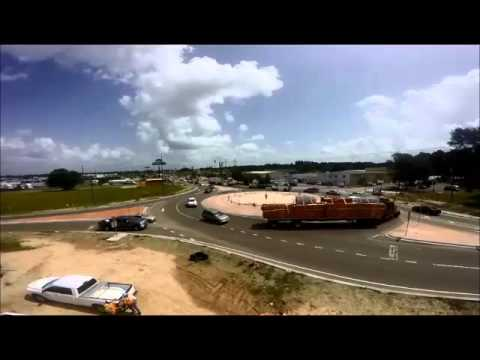 US 51 roundabout video