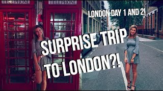 LONDON VACATION TRAVEL VLOGS!! | Day 1 and 2 | Pre-cruise vlogs