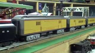 Union Pacific Passenger Train