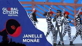 Janelle Monáe Performs Make Me Feel | Global Citizen Festival NYC 2018