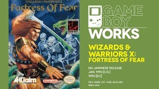 Wizards & Warriors X: Fortress of Fear retrospective: Westward ho | Game Boy Works #026