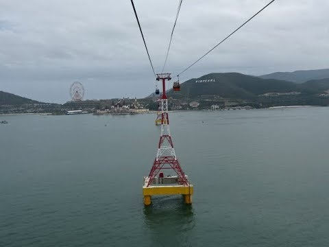 Vinpearl Cable Car, Nha Trang, Vietnam - World's Longest Overwater Cable Car