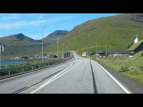 FAROE ISLANDS - Driving in Streymoy