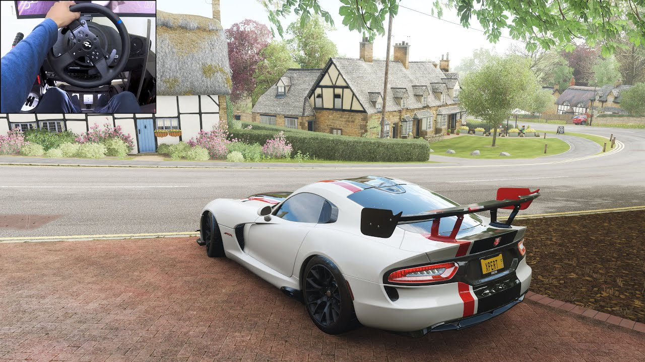 Dodge Viper ACR - Forza Horizon 4 | Thrustmaster T300RS gameplay