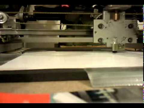Small CNC Paper Cutter from www.fbit.gr
