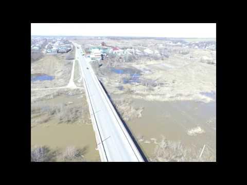 Разлив реки Сухой Россоши, Блокнот Россоши, 30.04.2018