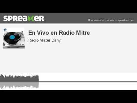 En Vivo en Radio Mitre (hecho con Spreaker)