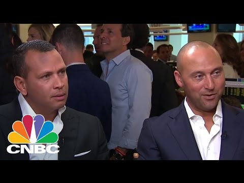 Derek Jeter and Alex Rodriguez Talk Charity At BTIG Charity Day 2017 | CNBC