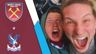 WEST HAM UNITED VS CRYSTAL PALACE (Premier League 16/17)