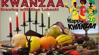 🕎🌽🌾🎁🇲🇼Kwanzaa Drawing with Alan Lubeski and a chance to WIN a FREE commission!🕎🌽🌾🎁🇲🇼