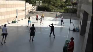 Волейбол.Играем классом в волейбол