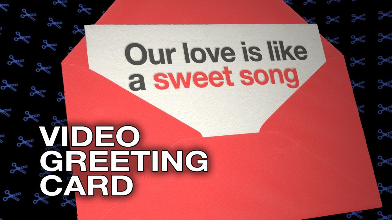 Our love is like a sweet song video greeting card funny love e our love is like a sweet song video greeting card funny love e card m4hsunfo Images