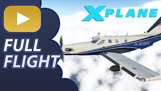 Full Flight | Hot Start TBM 900 | YRED - YBUD | XP11