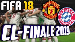 Champions League Finale 2019 | ManU Vs. FC Bayern | FIFA 18 - 1.Halbzeit
