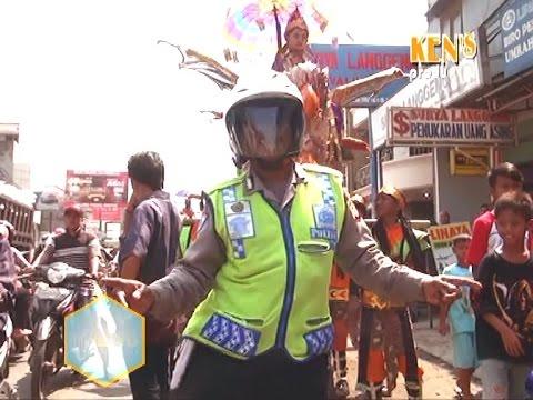 POLISI GOYANG ENDOL LAGI BARENG PUTRI GENADES  PAMANUKAN- SUBANG
