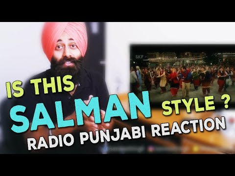 Punjabi Guy React on TUBELIGHT- RADIO Song | Salman Khan | Reaction #40
