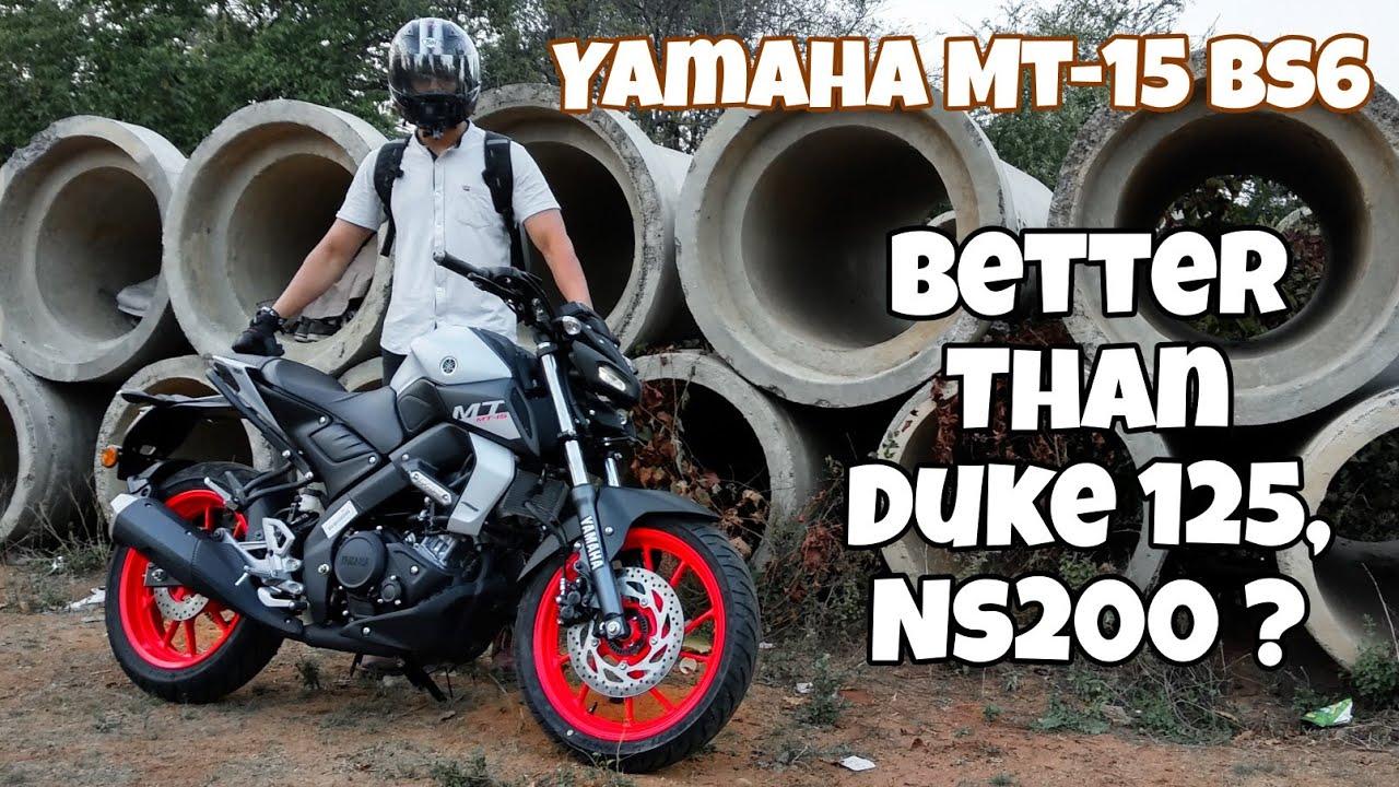 video Yamaha MT-15 BS6