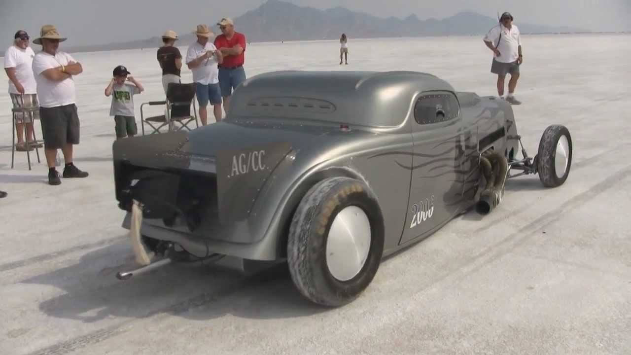 Dave Meyer S Coupe Bonneville Speedweek 2012 Youtube