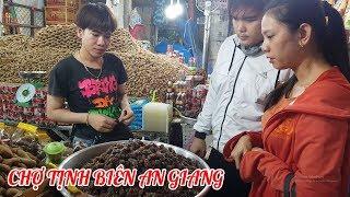 Khám phá chợ Tịnh Biên An Giang thiên đường mua sắm hàng Thái Lan