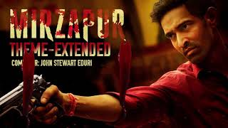 Mirzapur  Extended Theme Song   OST   Amazon Prime