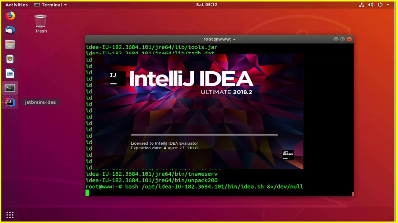 How To install IntelliJ IDEA On Ubuntu 18 04 LTS Linux