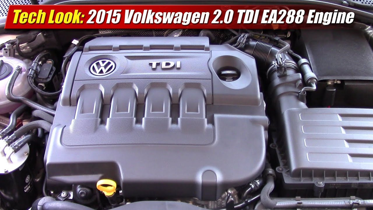 tech look: 2015 volkswagen 2 0 tdi ea288 engine
