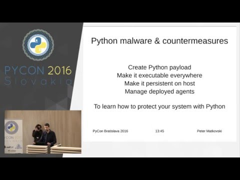 Image from Python and Malware