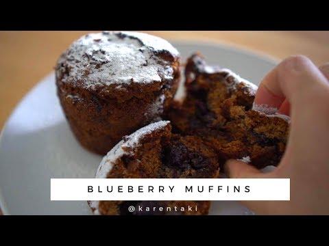 muffin-de-mirtilos-sem-gluten-com-farinha-de-coco-|-blueberry-muffins