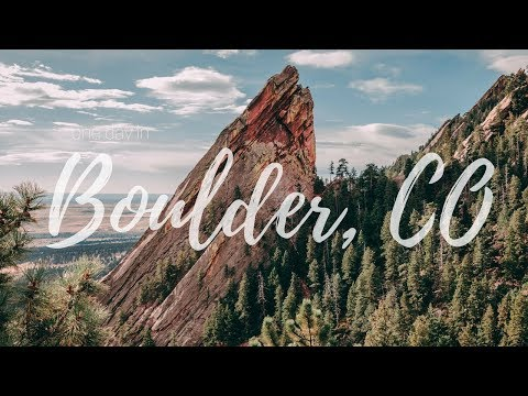BOULDER FLATIRONS, CENTRAL PARK, PEARL STREET MALL IN A DAY | vlog 86