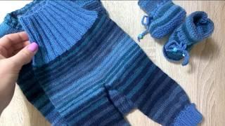 Вязаная одежда для малыша
