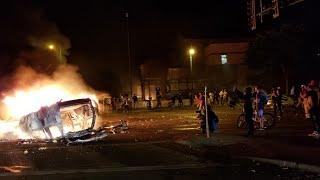 Minneapolis MN George Floyd / The 3rd Police Precinct Set On Fire Over