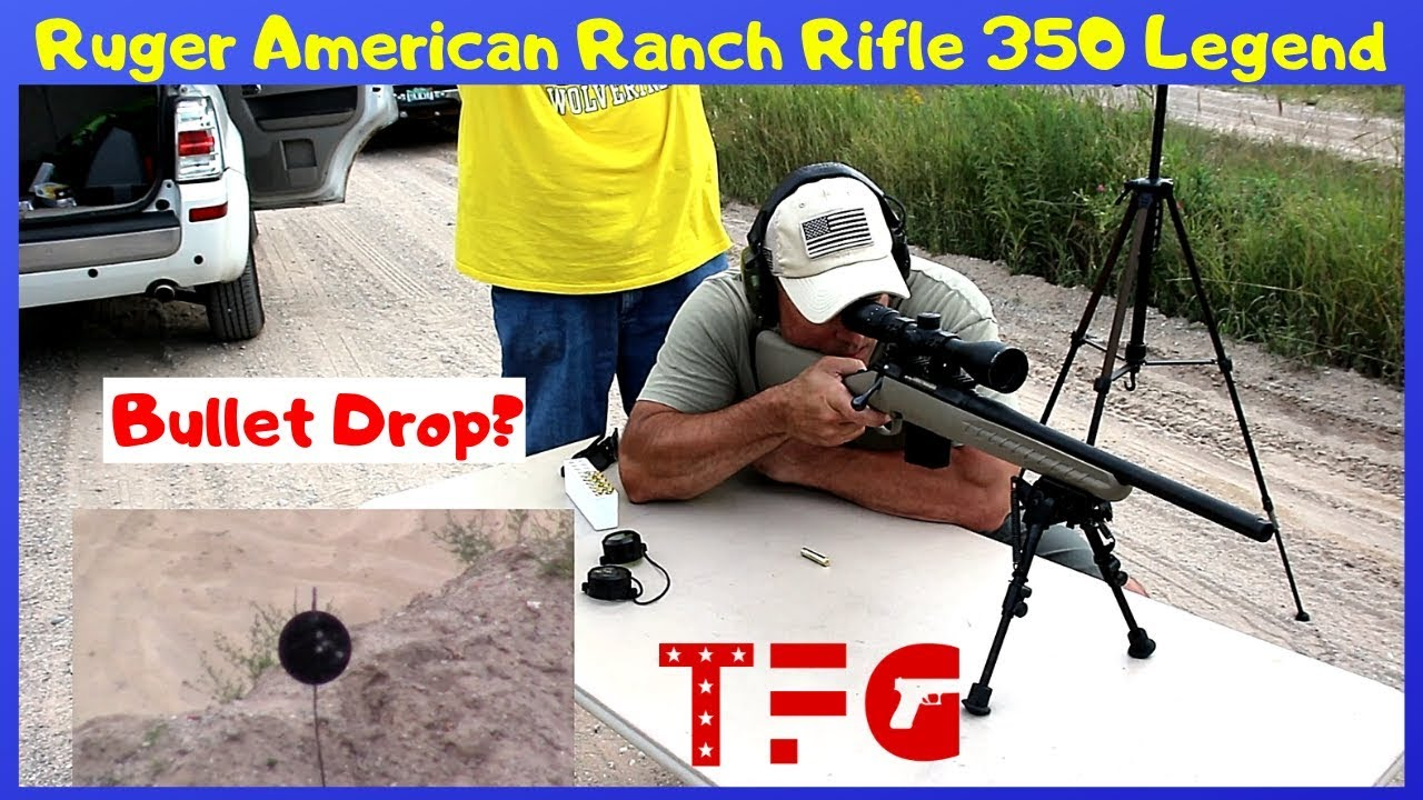 Ruger American Rifle in 350 Legend (What Bullet Drop?) - TheFirearmGuy