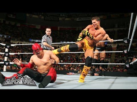 Los Matadores vs. Cesaro & Tyson Kidd: WWE Superstars, December 18, 2014