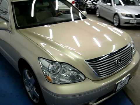 SLXI CARS FOR SALE: 2006 Lexus LS430 Gold SN840 - YouTube