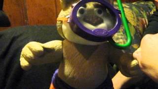 Mattel Gettin' Wet Bubba Talking Snorkels Bubbles Water Buddy Retail $40